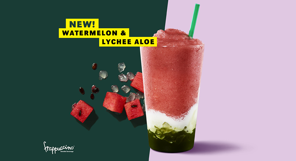 Strabuck's New Instagram Worthy Drink: Watermelon and Lychee Aloe Frappuccino